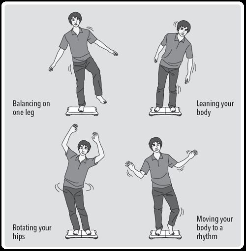 Research on how the Wii Balance Board is being used in