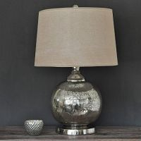 Exceptionally Beautiful Silver Table Lamps | Light ...