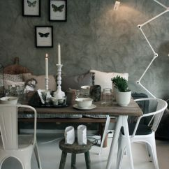 Living Room Design With Grey Walls Sofa Set Designs For Farm House Chic, And Textured Wall. Rag Rolled? Suede ...