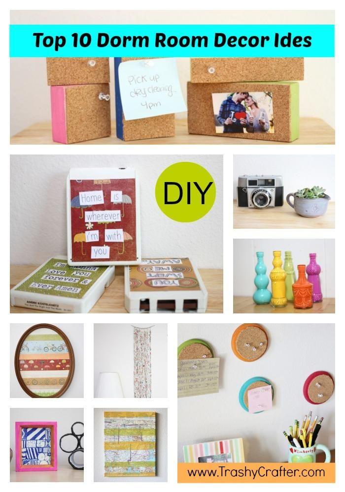 DIY Dorm Room Top 10 Dorm Room Decor Ideas  Todays