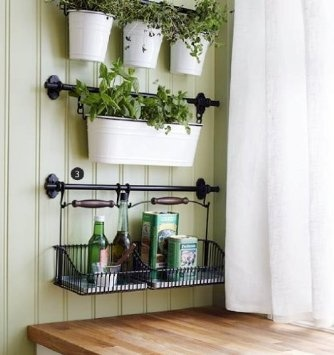 1000 images about Wall Rail Organization Systems on Pinterest