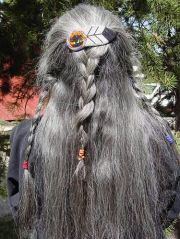 1000 ideas long gray hair