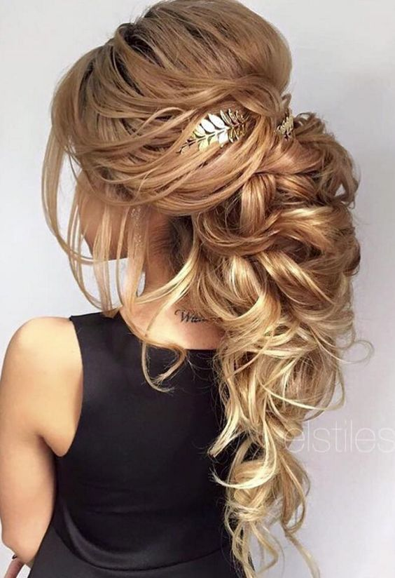25 Best Ideas About Long Hair Wedding Styles On Pinterest Long