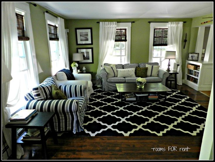 good paint colors for living room harley davidson decor ideas - love the bright green & dark navy white ...