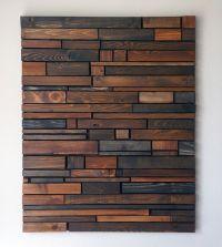 25+ best ideas about Wood Wall Art on Pinterest