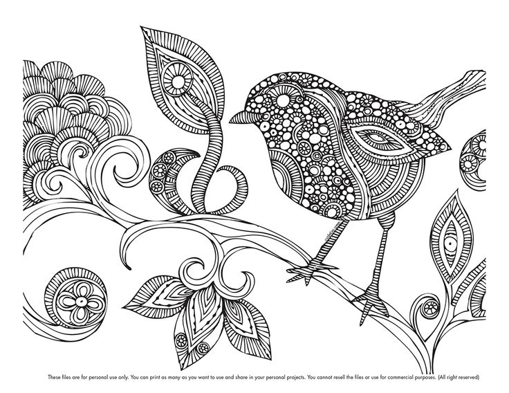 Happy (belated) Coloring Monday! Here your coloring page