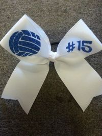 25+ best ideas about Volleyball bows on Pinterest | Easy ...