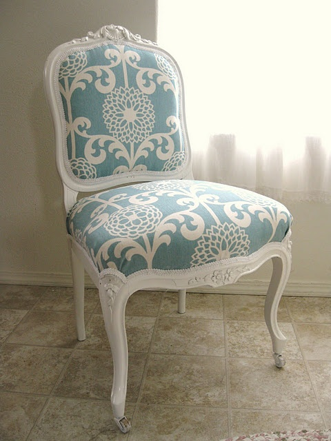 41 best images about Reupholstering chairs on Pinterest