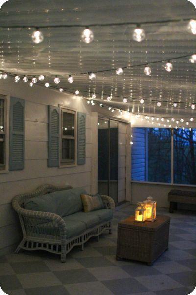 17 Best ideas about Porch String Lights on Pinterest