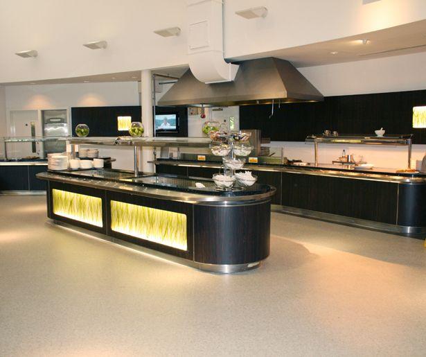 SAS  Island Counter  Corporate Canteen Design