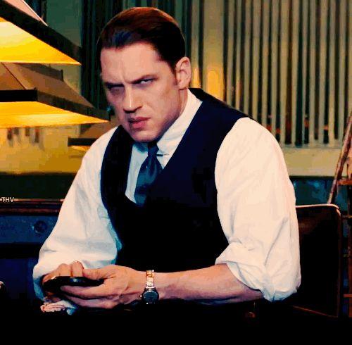 Tom Hardy  Legend  Tom Hardy gifs  Pinterest