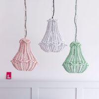 25+ best ideas about Beaded chandelier on Pinterest