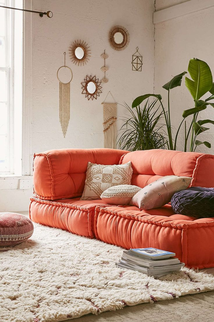 diy daybed sofas american signature furniture leather sofa reviews reema floor cushion | cushions, music rooms and wall ...