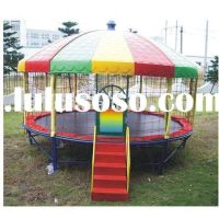 trampoline canopy | Trampoline tent cover playhouse - tent ...