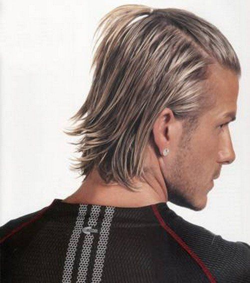 David Beckham Hairstyle Hair Fashion Trends Hairstyles I Love