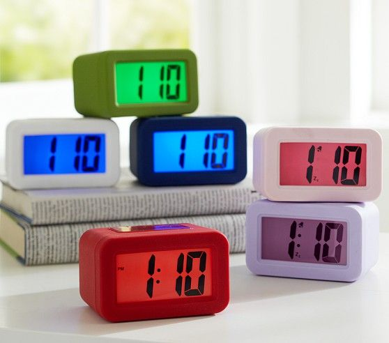 With Bold Numbers And A Colorful Backlight This Durable Clock Is Easy To Read