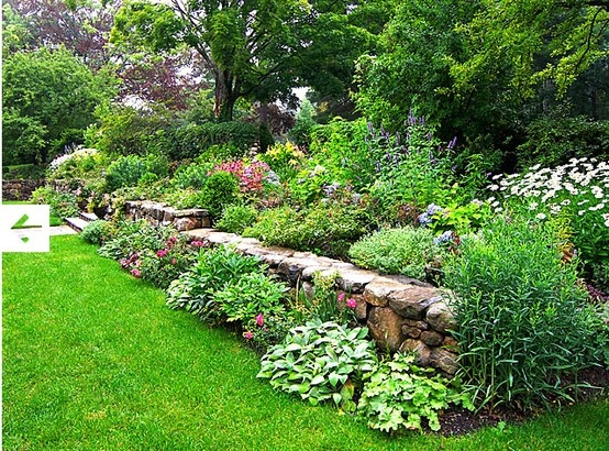 17 Best Images About Rock Wall Garden Ideas On Pinterest Gardens
