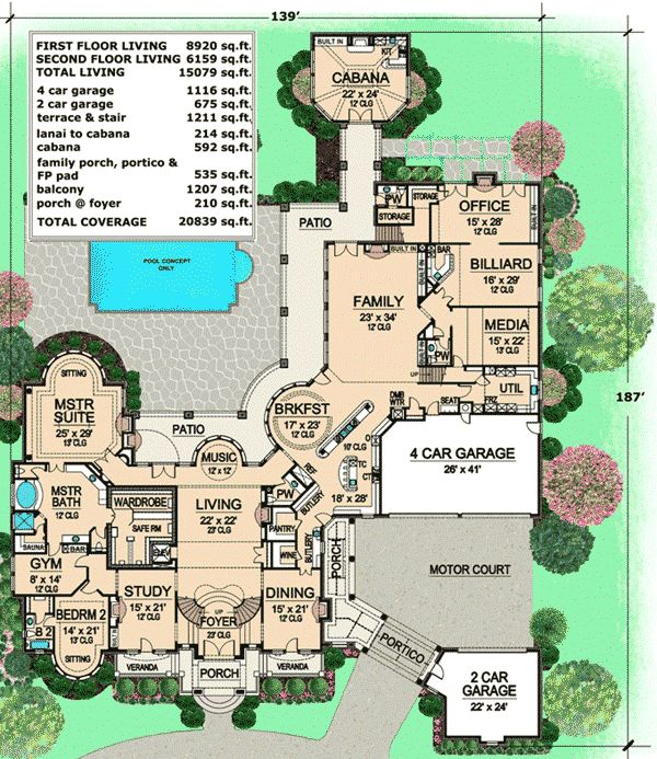 1809 Best Images About House Plans On Pinterest Luxury House
