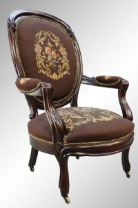 needlepoint chairs | ... Sold / 16123 Antique Victorian ...