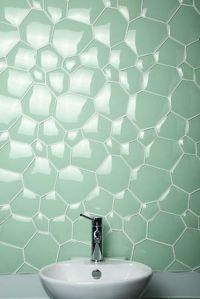 Watercube glass tile | Pattern and Texture | Pinterest ...