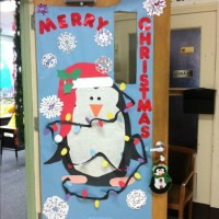 My Penguin Christmas Door! | Door Decorations | Pinterest ...