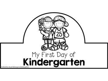 First-Day-of-School-Crowns-FREEBIE-1335943 Teaching