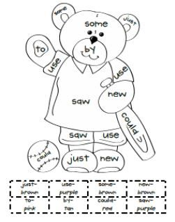 17 Best images about kindergarten- cvc & sight words on