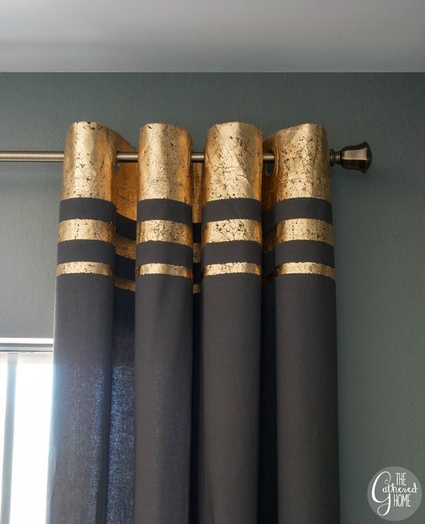 25 Best Ideas About Gold Curtains On Pinterest Black Gold