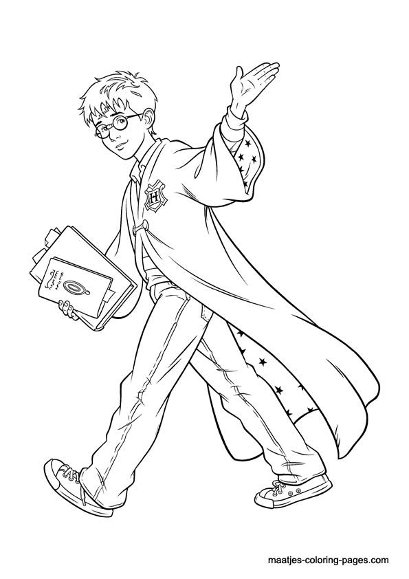 Harry Potter ~ Coloring Pages: a collection of ideas to