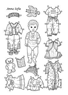547 best images about Paper Doll: Babies and Toddlers on