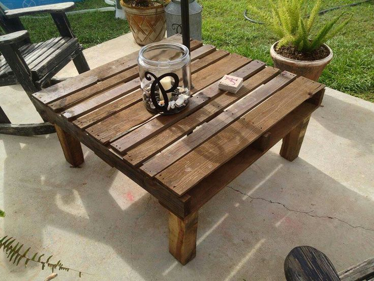 25 Best Ideas About Pallet Table Outdoor On Pinterest