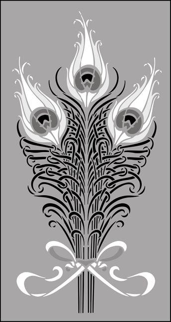 17 Best images about Art Nouveau Peacock on Pinterest