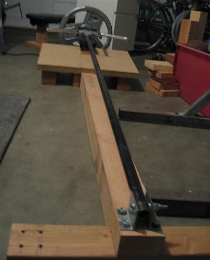 T Bar Row Homemade Workout Equipment Pinterest Homemade