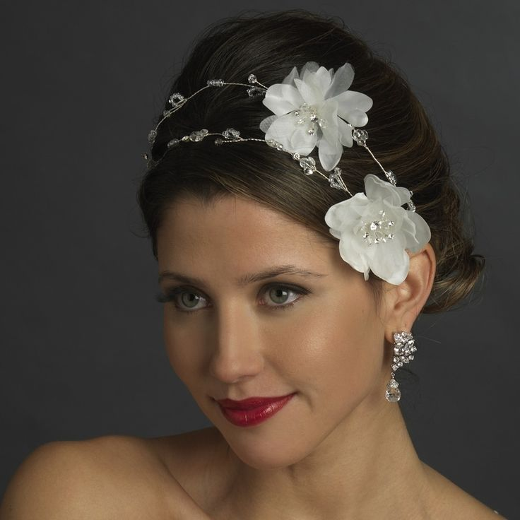 1000 ideas about Flower Headpiece Wedding on Pinterest