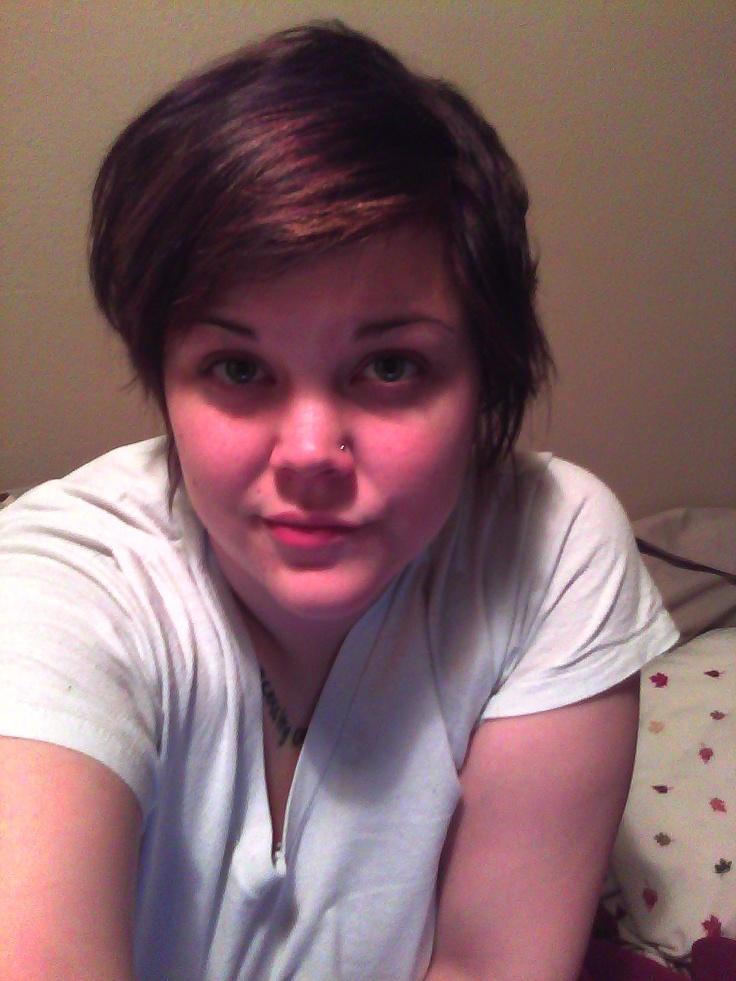 Cute Fat Girls Short Hair YES SHORT HAIR