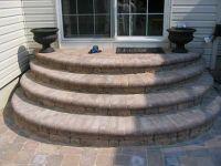 decks using pavers | Home improvement advice needed- rear ...