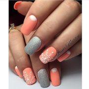 1000 ideas grey matte nails