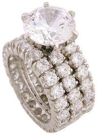 35 best ideas about cz wedding sets on Pinterest | White ...