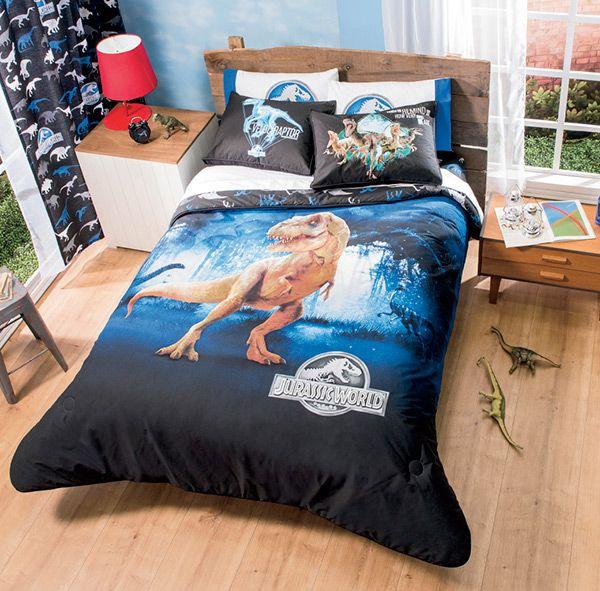 Jurassic World Bedding  Bedroom Decorating Ideas