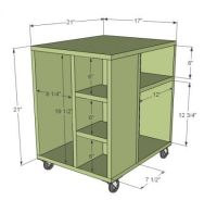 Simple Computer Desk Woodworking Plans - WoodWorking ...