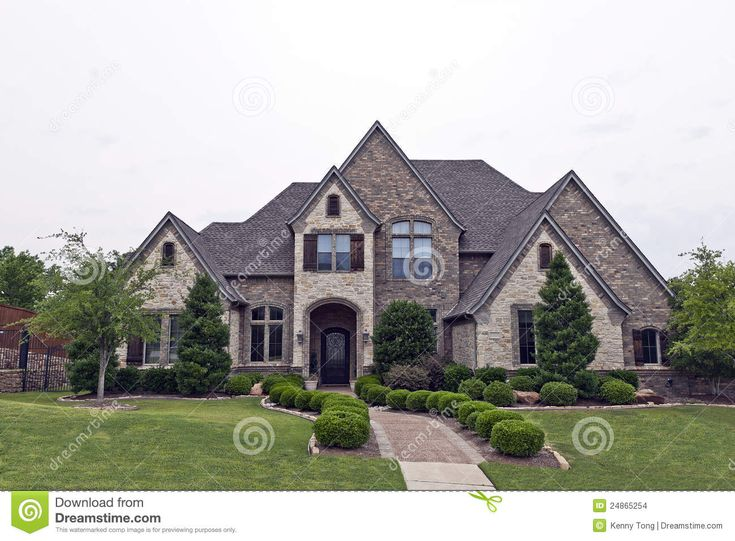 rockandstonehomes  Beautiful Two Story Luxury Brick Stone House  Dreamhome o  Pinterest