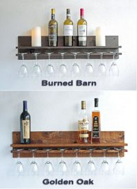 25+ best ideas about Wine glass rack on Pinterest