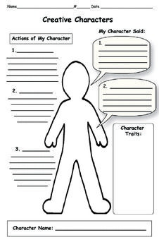 Character trait, Close reading and The characters on Pinterest