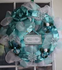 275 best images about Wreaths - Tiffany Blue - Topiaries ...