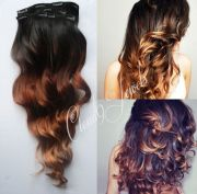 clip in natural ombre hair extensions