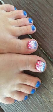 ideas painted toe