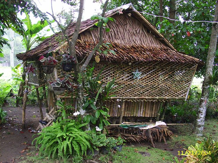 17 Best images about The Bahay Kubo Nipa Hut on