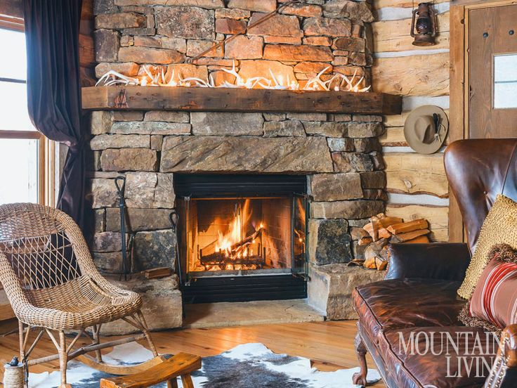 Natural Wood Mantels For Fireplaces Fireplace, Stone Fireplaces, Mantels, Wood Beams