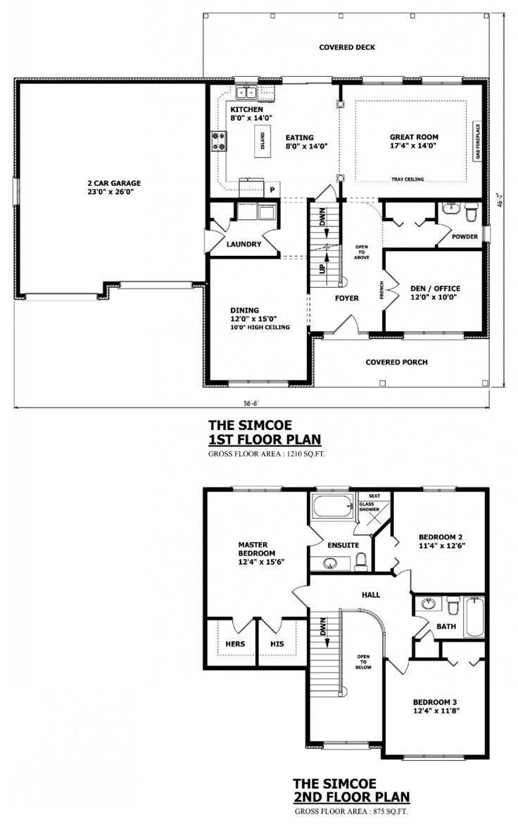 Best 25+ Two storey house plans ideas on Pinterest