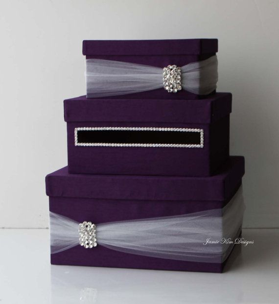 Wedding Card Box Money Box Wedding Gift Card Money Box  - Custom Made to Order: